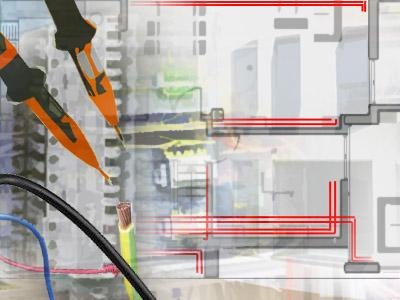 Bild Elektronikerin für Gebäude- und Infrastruktursysteme/Elektroniker für Gebäude- und Infrastruktursysteme